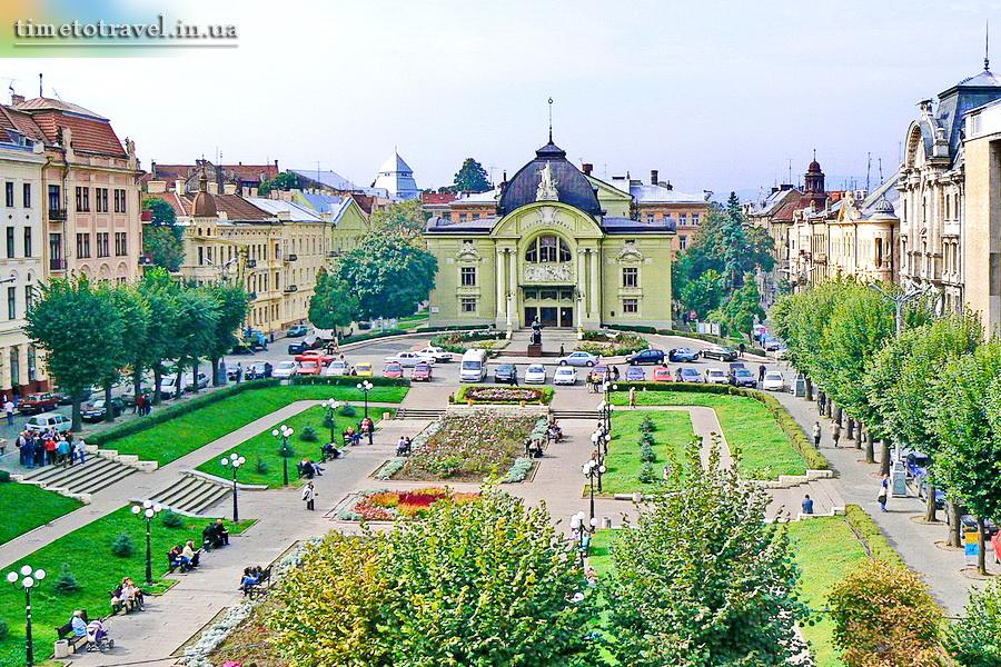 Місто Чернівці
