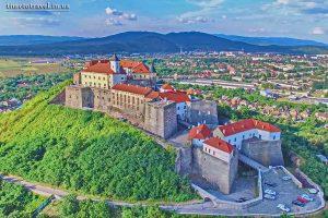 Мукачівський замок Паланок, Закарпаття