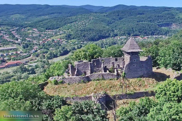 Невицький замок, Закарпаття