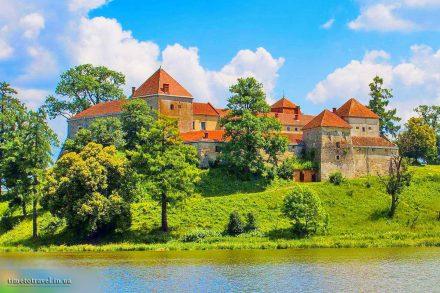 Свіржський замок, Львівщина