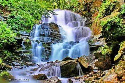 Водоспад Шипіт, Пилипець, Закарпаття