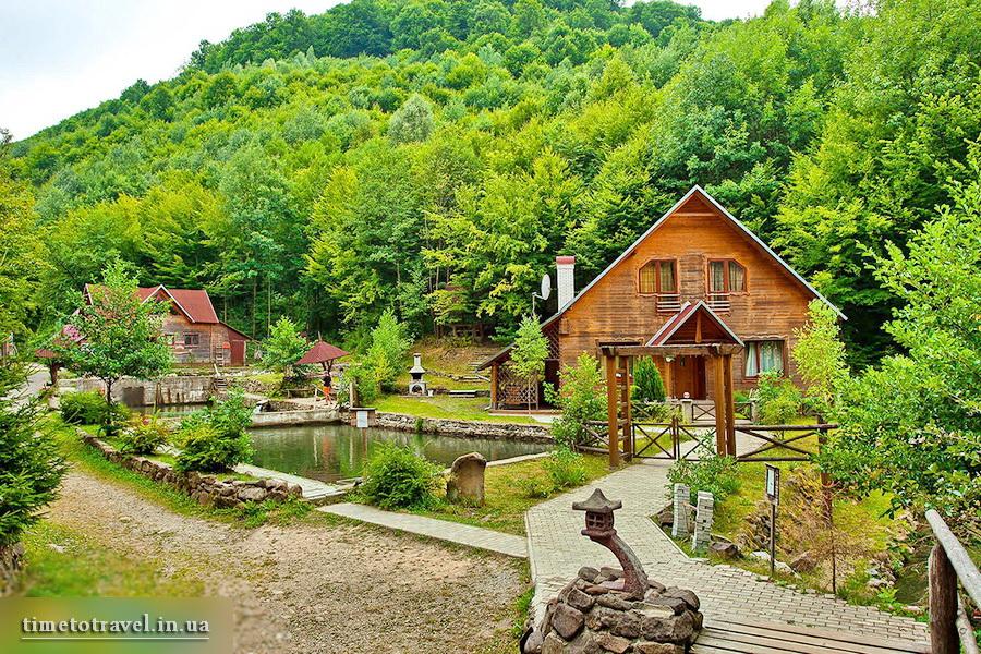 Курорт «Воеводино», с. Турья Пасека, Закарпатье