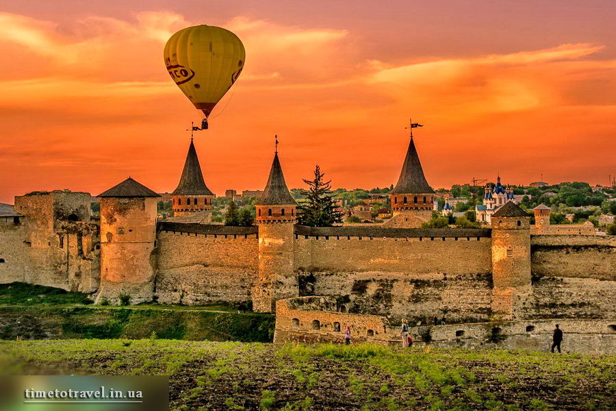 Кам'янець-Подільська фортеця, Хмельницька область