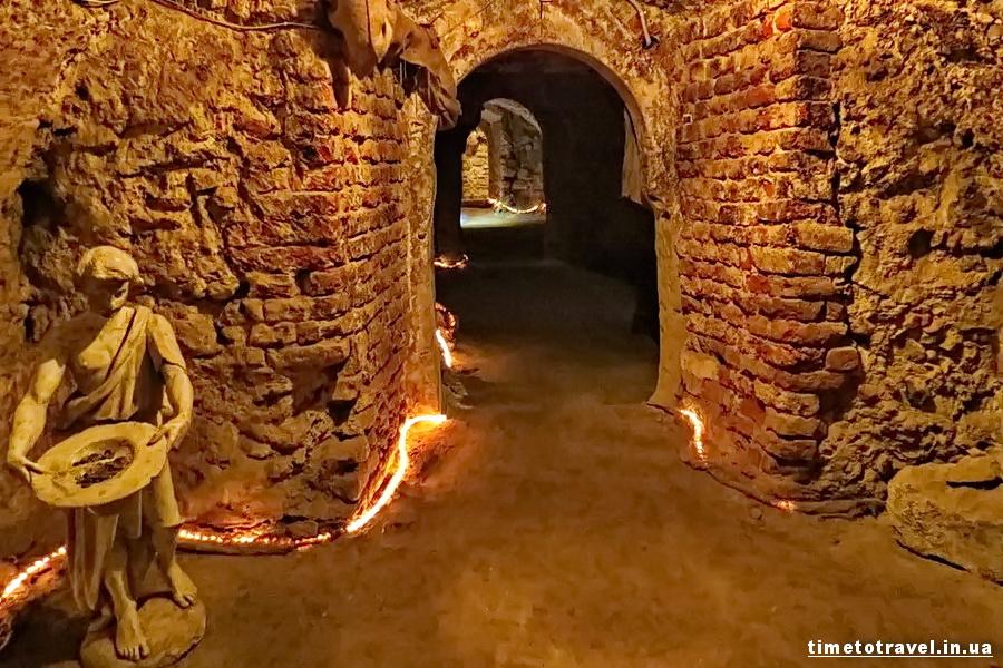 підземелля домініканського собору, Львів