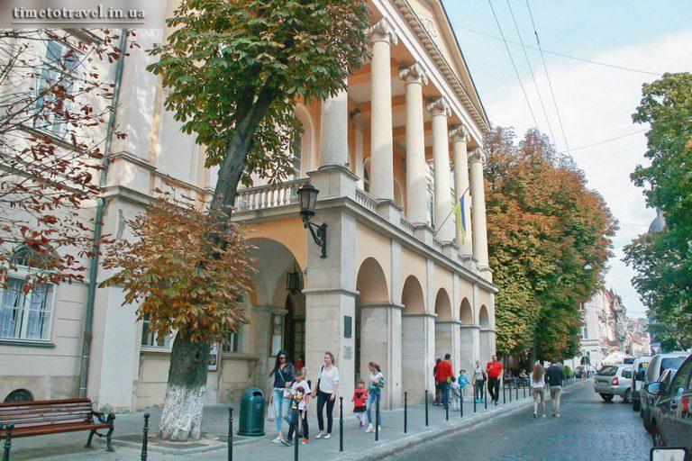 Національний драматичний академічний театр Марії Заньковецької, Львів