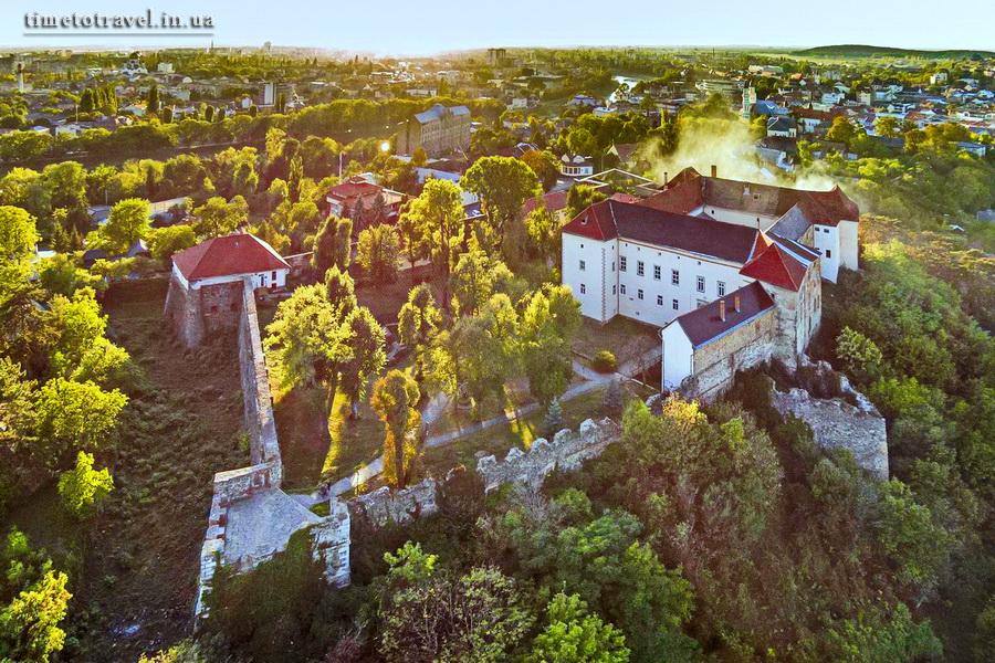 Ужгородський замок, Закрпаття