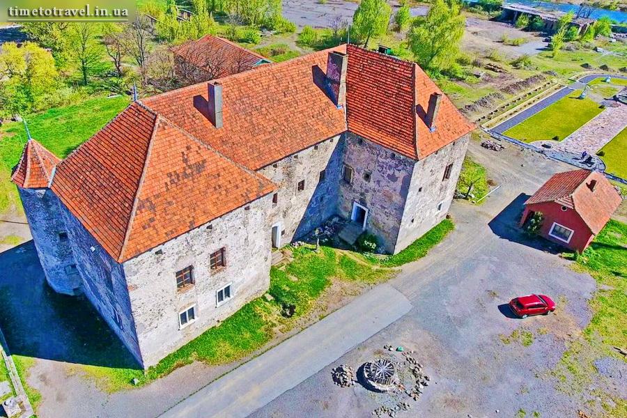 Замок Сент-Миклош, Чинадиево, Закарпатская область