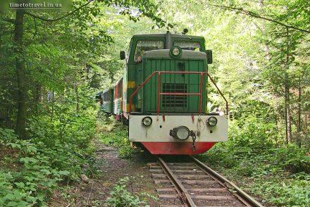 Карпатский трамвай, пгт Выгода Ивано-Франковской области